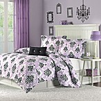 Katelyn Comforter Set in Purple