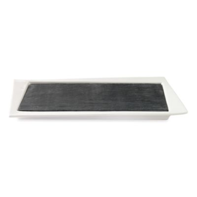 Luigi Bormioli Slate Two-Piece Serving Tray