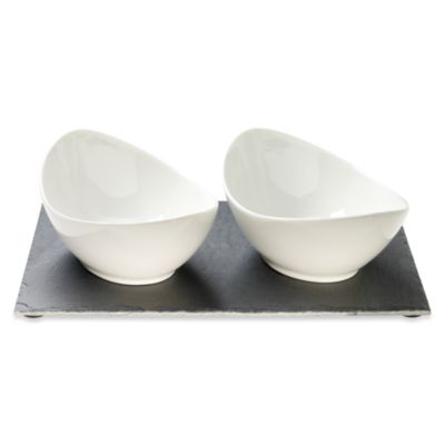 Luigi Bormioli Slate 3-Piece Bowl Set
