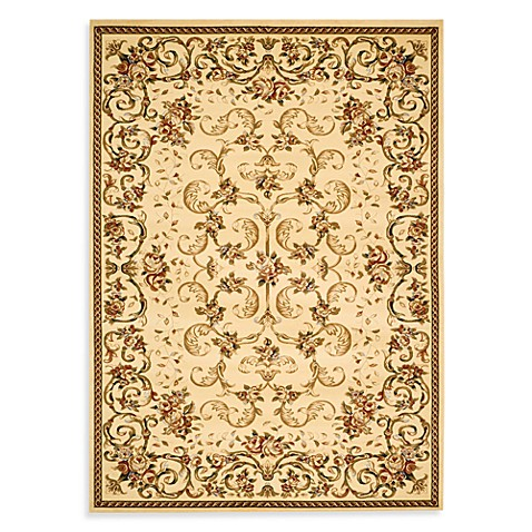 Safavieh Lyndhurst Collection Ivory 6' Round Rug
