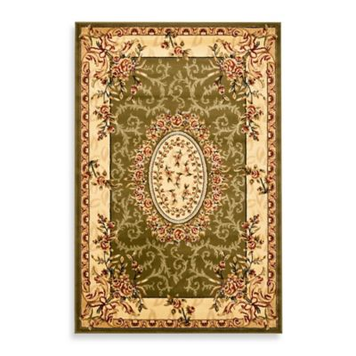 Safavieh Lyndhurst Collection 7-Foot 9-Inch x 10-Foot 9-Inch Rug in Sage/Ivory