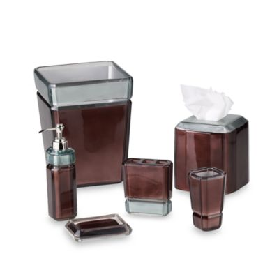 Croscill® Barron Lotion Dispenser in Chocolate