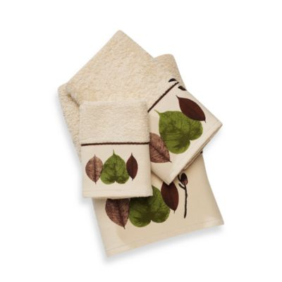 Leaf Study Fingertip Towel