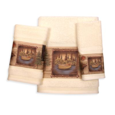 Forest Fingertip Towel