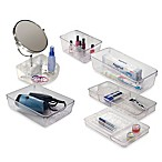 InterDesign® Rain Clear Bath Organizers