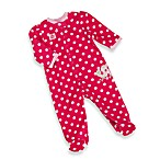 Little Me Turtle Polka Dot Sleeper Pajamas