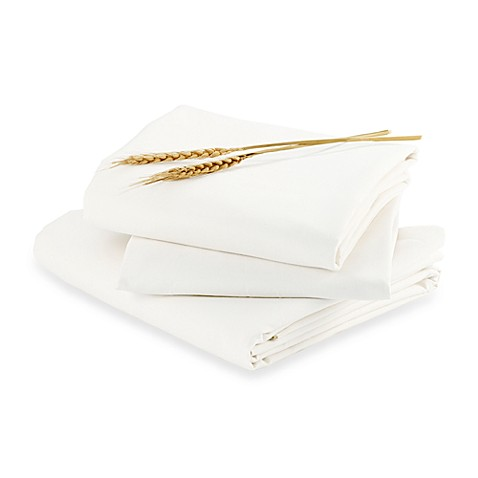bloom® alma papa™ Fitted Sheet Set in Coconut White