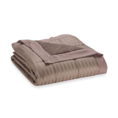 The Seasons Collections®  Down Alternative King Blanket in Walnut