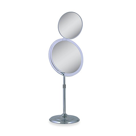 Zadro™ 9-Inch Adjustable 5X/7X Pedestal Mirror