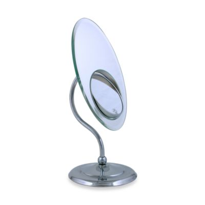 Zadro™ 9-Inch Tri-Optics Oval Mirror in Chrome