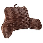 Crystal Fur Backrest in Chocolate