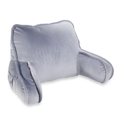 Plush Backrest in Blue