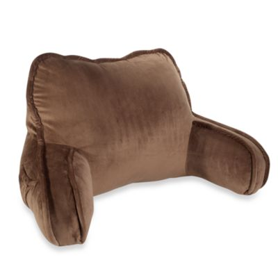 Plush Backrest in Chocolate