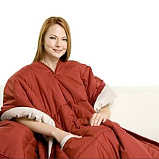 Softie Overwrap Throw - Red