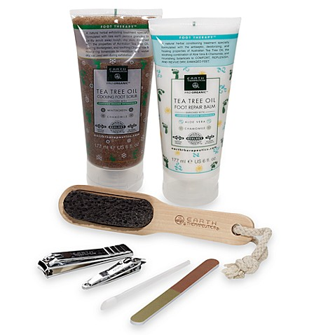 Earth Therapeutics Deluxe Foot Therapy and Pedicure Gift Set