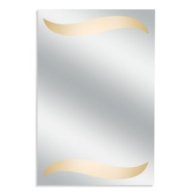 Kimball & Young Wave Back-Lit Wall Mirror