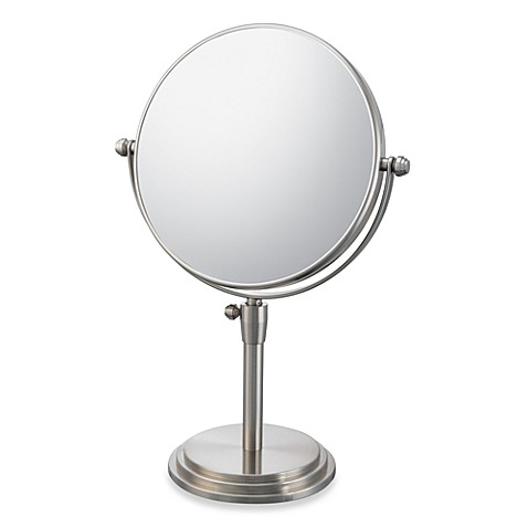 Buy Mirror Image Classic Adjustable 5x 1x Vanity Mirror With Brushed Nickel Finish From Bed