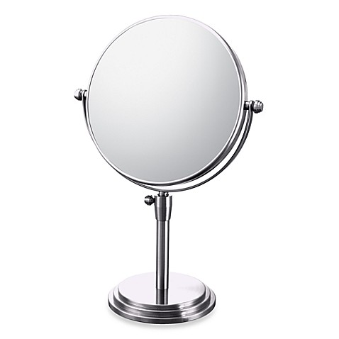 Mirror Image™ Classic Adjustable 5X/1X Vanity Mirror with Chrome Finish