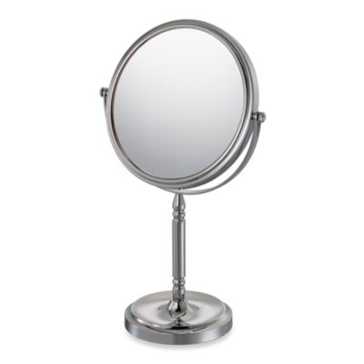 Mirror Image™ Recessed Base Vanity Mirror with 10X/1X Magnification