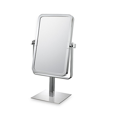 Mirror Image™ Rectangular 3X/1X Vanity Mirror with Chrome Finish