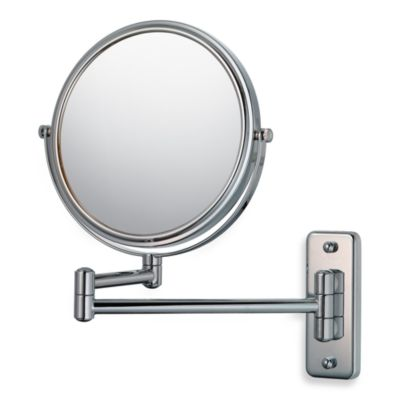 Mirror Image™ 211 5X/1X Series Double Arm Wall Mirror with Chrome Finish