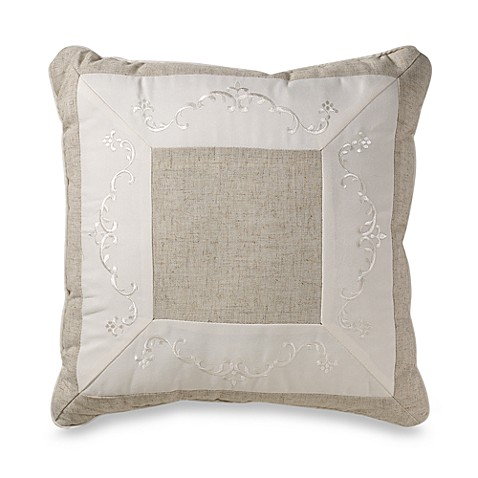 Mikasa Countryside 18-Inch Square Throw Pillow