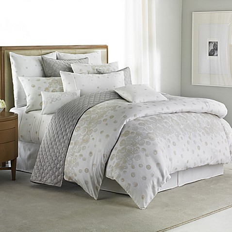 Barbara Barry Nautilus Duvet Cover, 100% Cotton