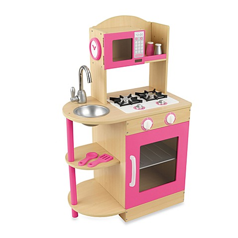 KidKraft® Pink Wooden Kitchen