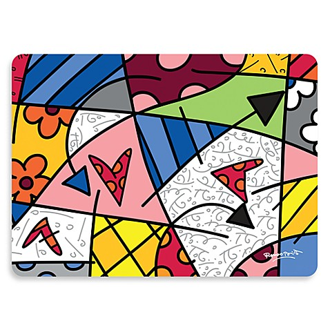 Britto™ Arrows Placemat in White