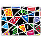 Britto™ Black Grid Placemat in Black