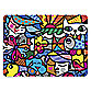 Britto™ Garden Placemat in Purple