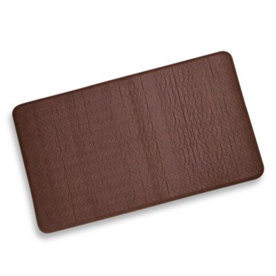 "Imprint™ Cobblestone 20"" x 72"" Anti-Fatigue Comfort Mat - Toffee"