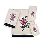 Avanti Tina Ivory Bath Towels, 100% Cotton