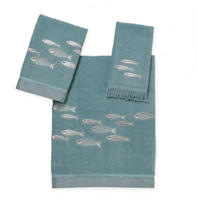 Avanti Nantucket Fingertip Towel in Mineral