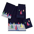 Avanti Regatta Indigo Bath Towels, 100% Cotton