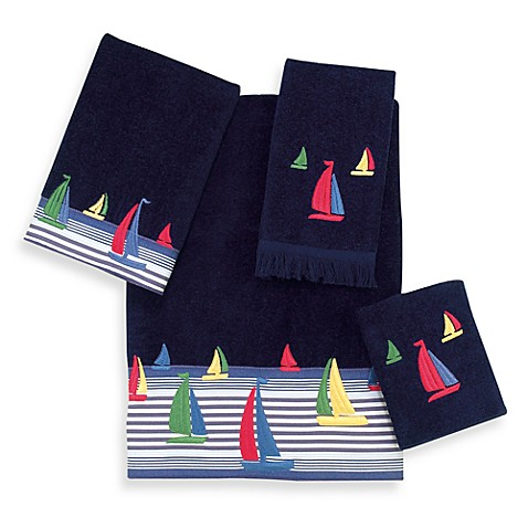 Avanti Regatta Bath Towel in Indigo