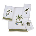 Avanti Catesby White Bath Towels, 100% Cotton