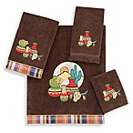 Avanti Taos Mocha Bath Towels, 100% Cotton