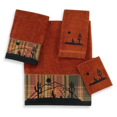 Avanti Desert Moon Copper Washcloth