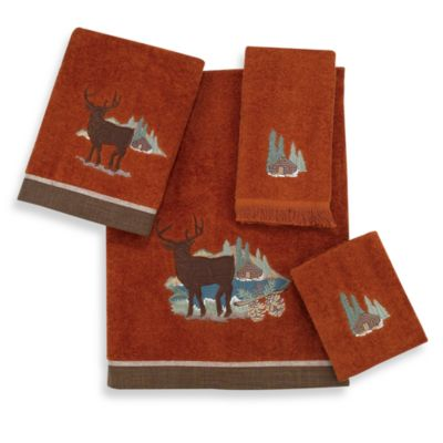 Avanti Winchester Hand Towel in Copper