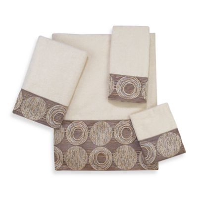 Avanti Galaxy Washcloth in Ivory
