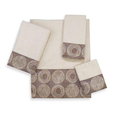 Avanti Galaxy Ivory Bath Towel