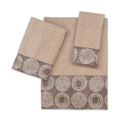 Avanti Galaxy Fingertip Towel in Linen