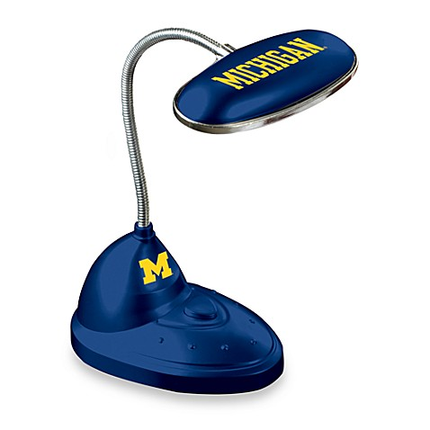 University of Michigan LED Lamp Desk