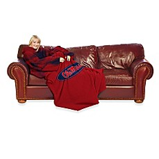 University of Mississippi Comfy Throw™ with Sleeves