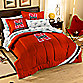 University of Nebraska Full Complete Bed Ensemble