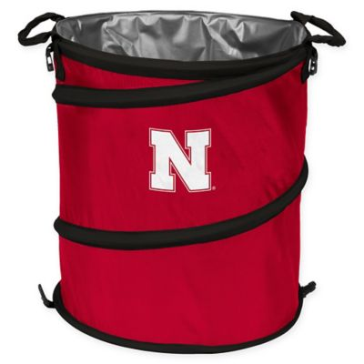 NCAA Trash Can Cooler Hamper