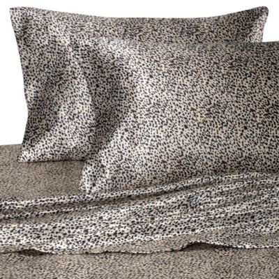 Hotel Satin Luxury Leopard Pillowcases