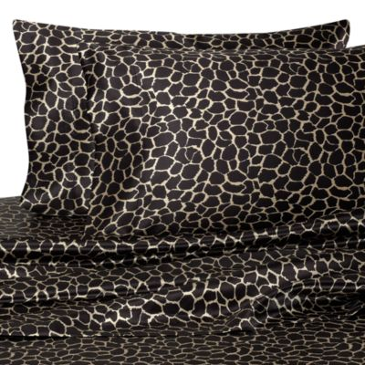 Hotel Satin Luxury Giraffe Pillowcases