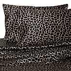 Hotel Satin Luxury California King Sheet Set in Giraffe